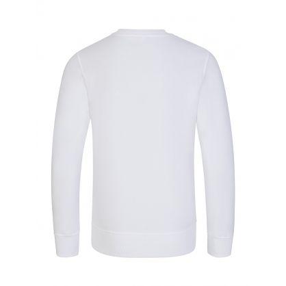 Kids White Couture! Logo Sweatshirt