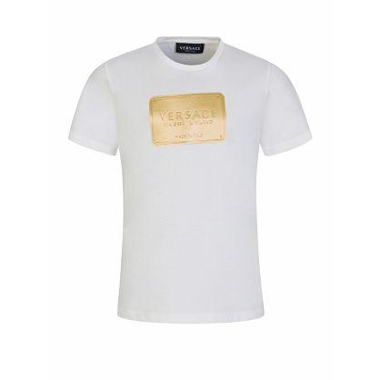 White Logo Plate T-Shirt