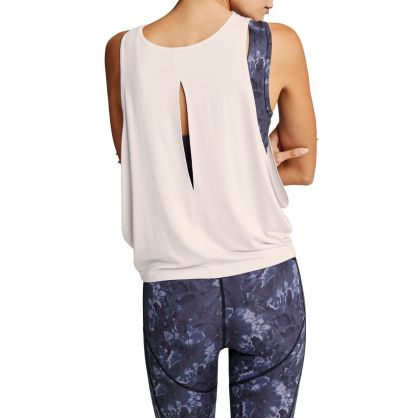 White Buckley Tank Top