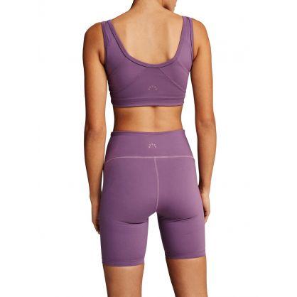 Purple Northfield Sports Shorts