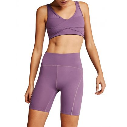 Purple Kellam Sports Bra