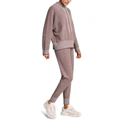 Brown Pique Knit Alice Sweatpants 2.0