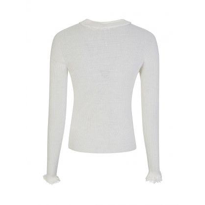 Di Lorenzo Serafini Ivory Sweater
