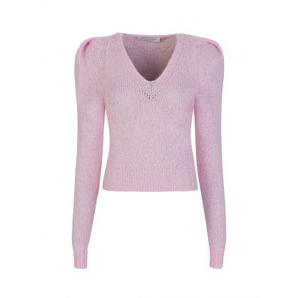 Di Lorenzo Serafini Pink Knitted Jumper