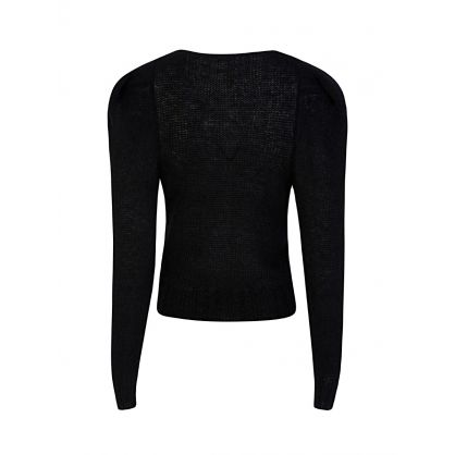 Di Lorenzo Serafini Black Knitted Jumper