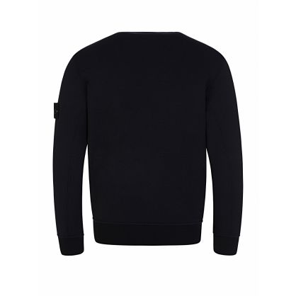 Junior Navy Chest Pocket Sweatshirt