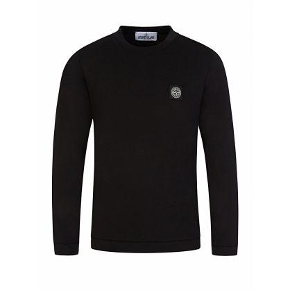 Junior Black Long Sleeve T-Shirt