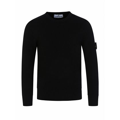 Junior Black Knitted Jumper