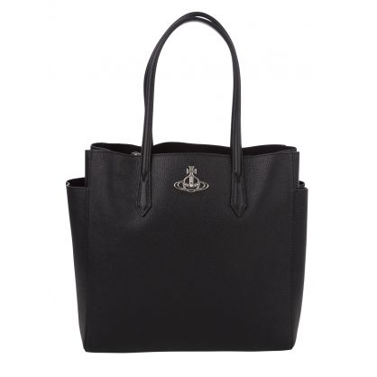Black Large Johanna Bag
