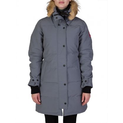 Shelbourne Grey Parka
