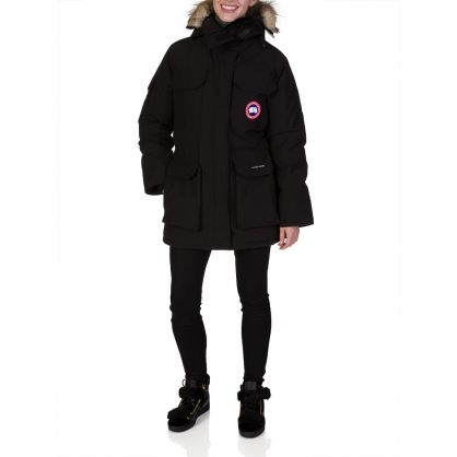 Black Expedition Parka