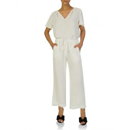 Cream Sidney Trousers