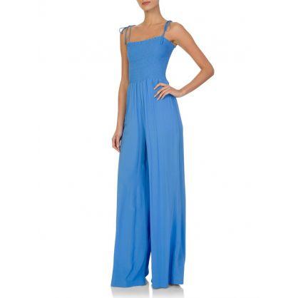 Paula Hermanny Blue Romance Jumpsuit