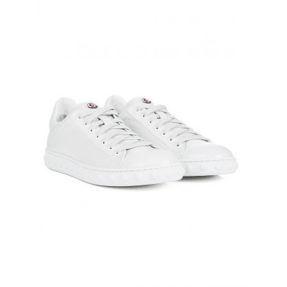 White Patent Leather Fifi Trainers