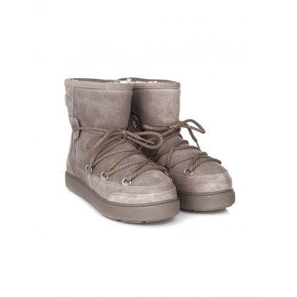 Beige New Fanny  Moon Boots