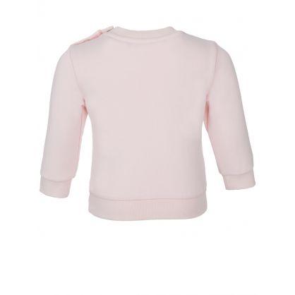 Baby  Pink Logo Sweatshirt