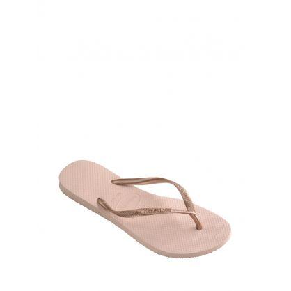 Rose Slim Flip-Flops
