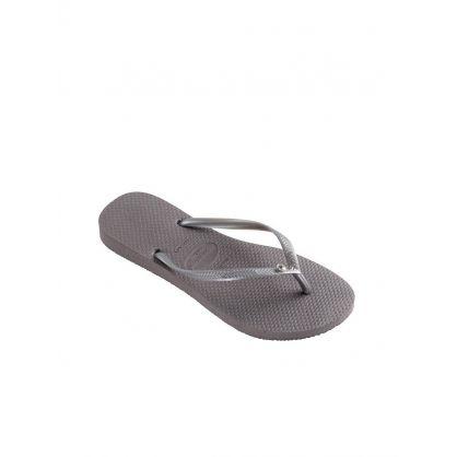 Steel Grey Flip-Flops