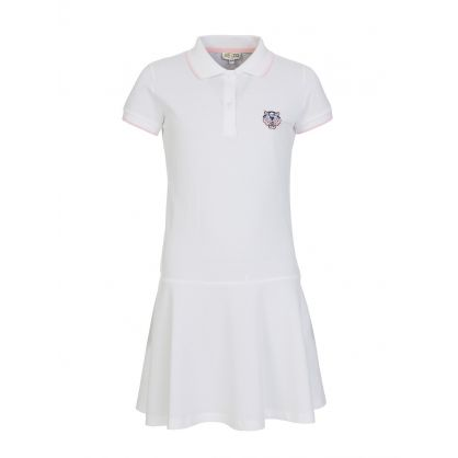 White Polo Shirt Dress