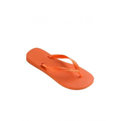 Orange Slim Flip-Flops