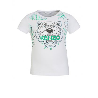 Baby  White Tiger Logo T-Shirt
