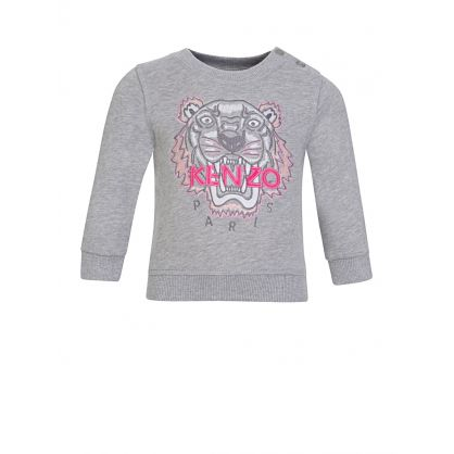 Baby  Grey Tiger Sweatshirt