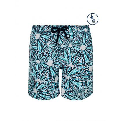 Junior Blue Sea Urchin Swim Shorts