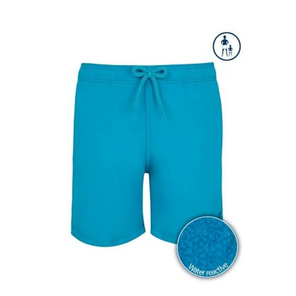 Junior Turquoise Seychelles Water-Reactive Swim Shorts