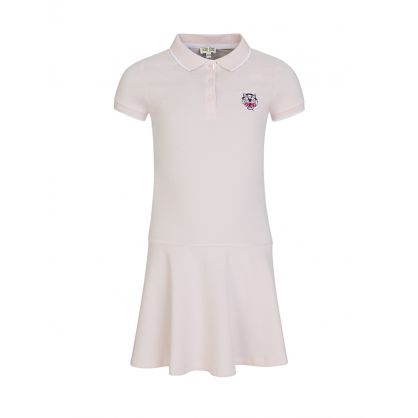 Pink Tiger Polo Shirt Dress