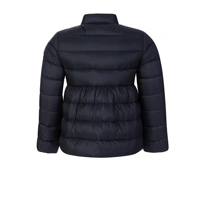 Navy Down Filled Puffer Jacket