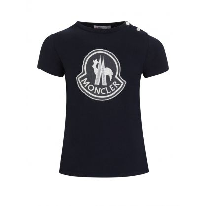 Navy Logo T-Shirt