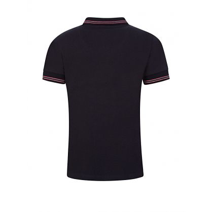 Navy Logo Polo Shirt
