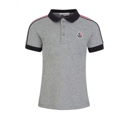 Grey Polo Shirt Set