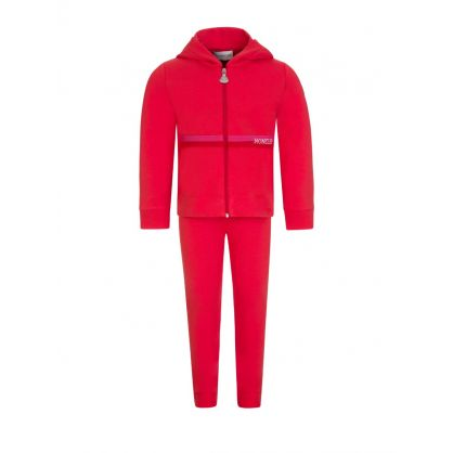 Red Frill Tracksuit