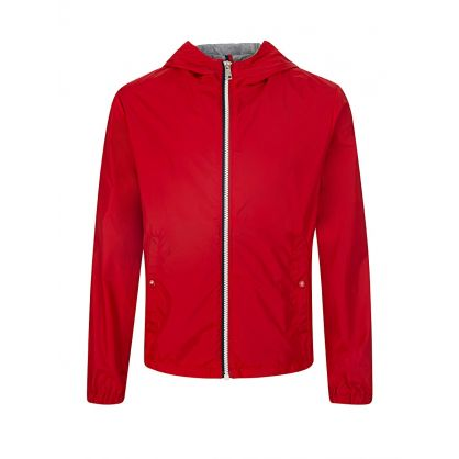 Red New Urville Raincoat