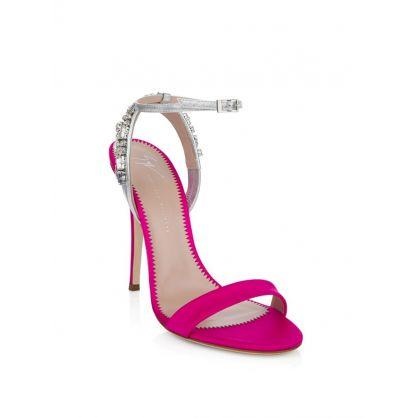 Pink Crystal Heels