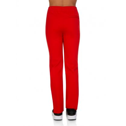 Red Technical Jersey Trackpants