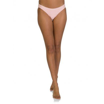 Pink Hipster Bikini Bottoms