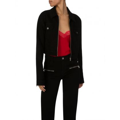 Vanished Black Moto Jacket