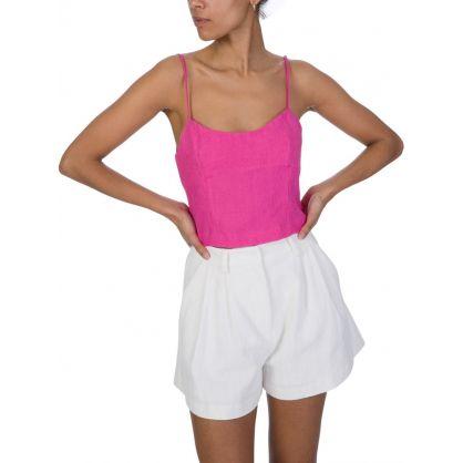 Fuchsia Pink Funk Top