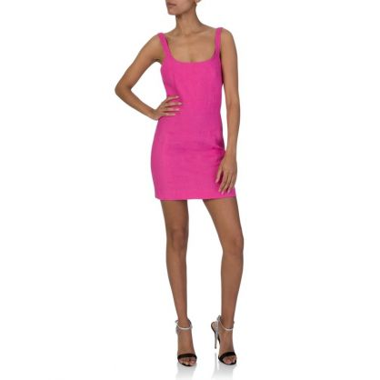 Fuchsia Pink Funk Dress