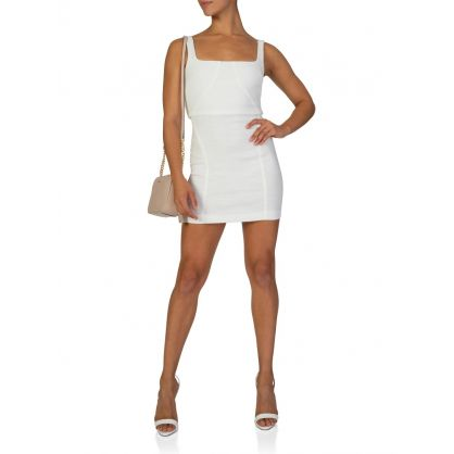 Ivory Cle'mence Mini Dress