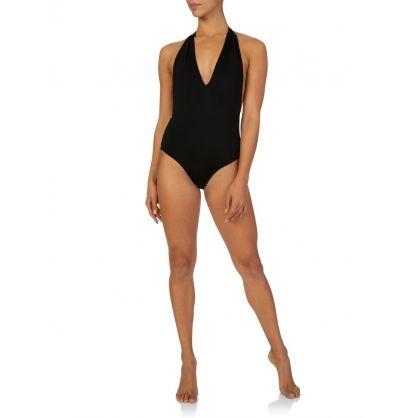 Black & Cream Ballet Swimwear