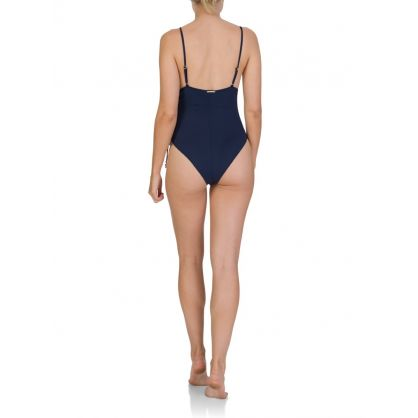 Blue Lacing One Piece