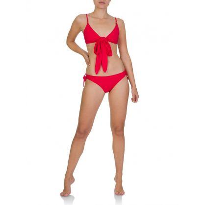 Red Bikini Bottoms