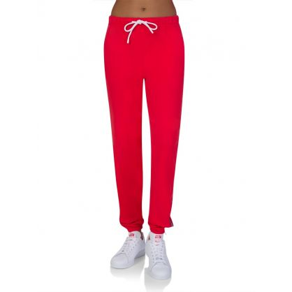 Red Milan Zip Sweatpants