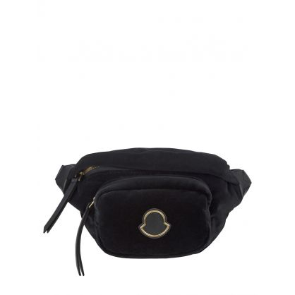 Black Velvet Felicie Belt Bag
