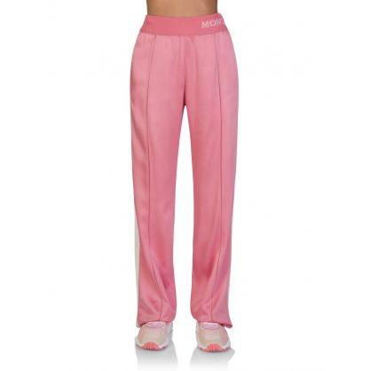 Pink Silky Style Trousers