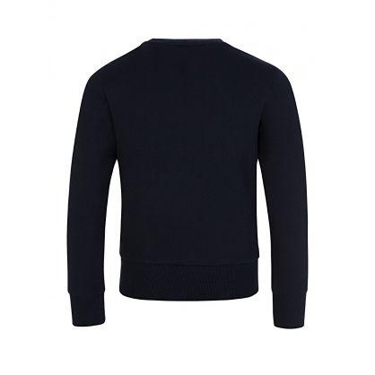 Navy Maglia Girocollo Sweatshirt