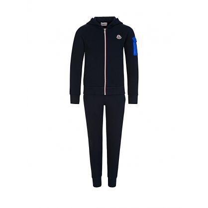 Navy Maglia Hooded Tracksuit